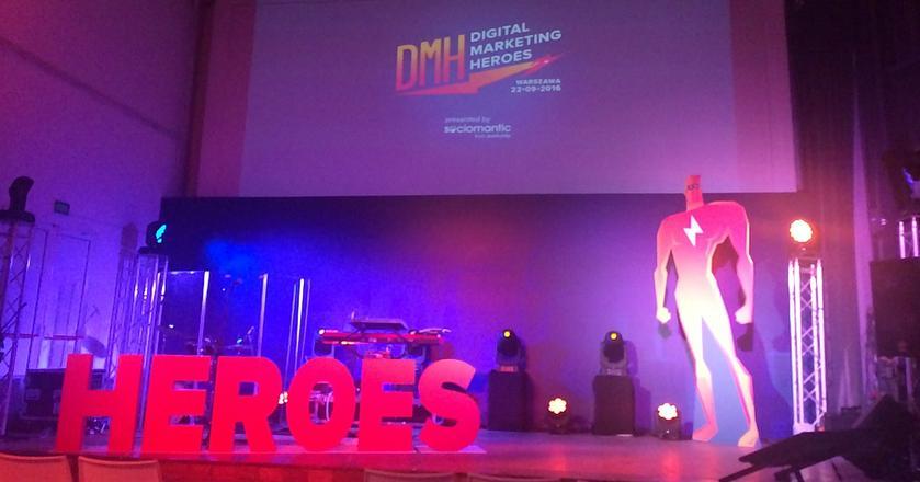Konferencja Digital Marketing Heroes odbyła się w klubie Niebo