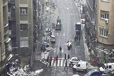 POLICIJA BLOKIRALA TAKOVSKU Potpuno obustavljen saobraćaj, niko ne može da prođe od Glavne pošte do Svetogorske