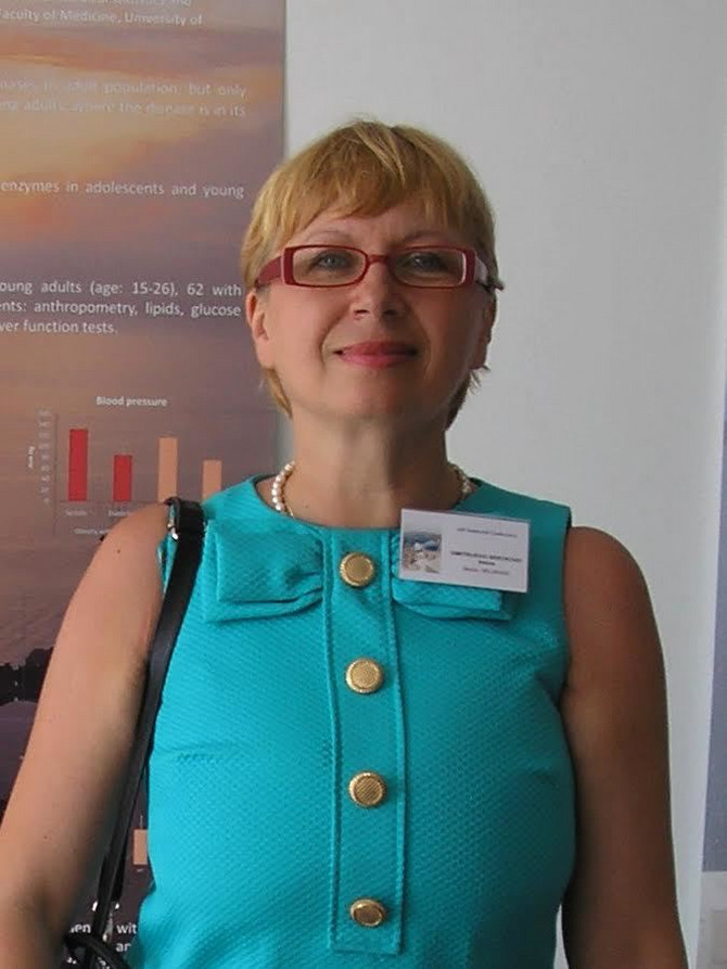 prof. dr Vesna Srećković Dimitrijević, internista endokrinolog