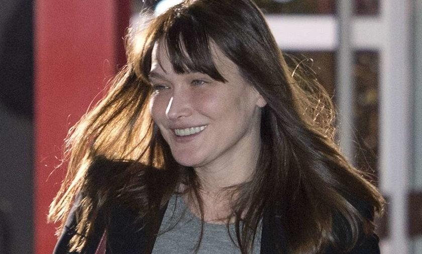 Carlę Bruni zżera stres przed wyborami