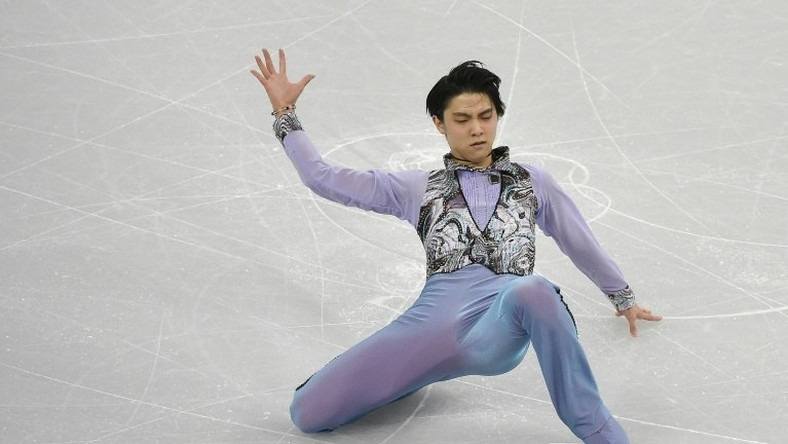 22-year-old Japanese Yuzuru Hanyu set world records for the short, free programme and overall score in 2015