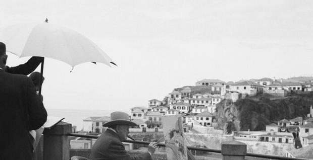 Winston Churchill na Maderze