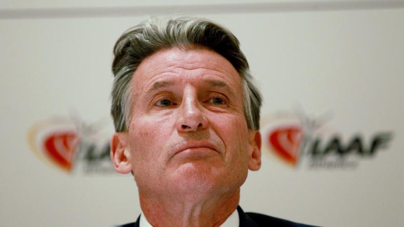 Szef IAAF Sebastian Coe