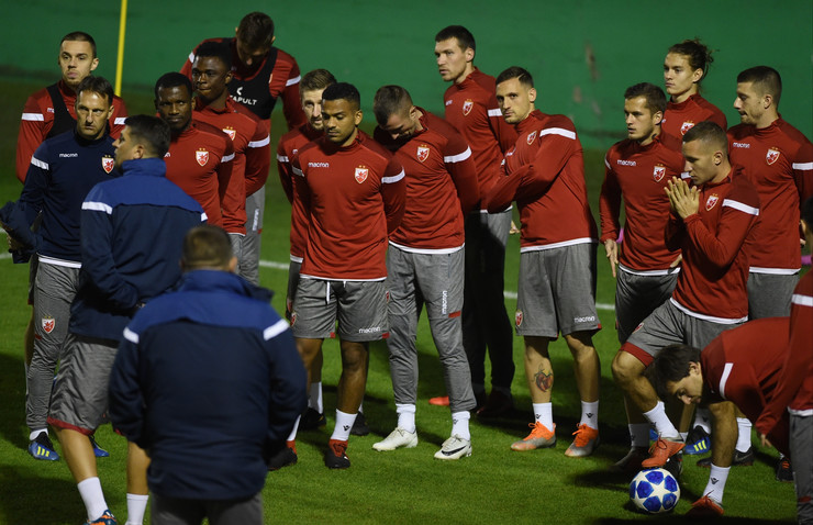 FK Crvena zvezda, Trening