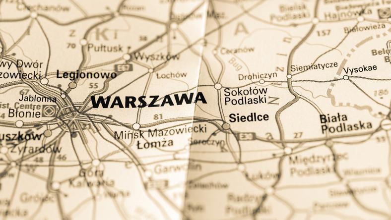 Awaria prądu w Warszawie
