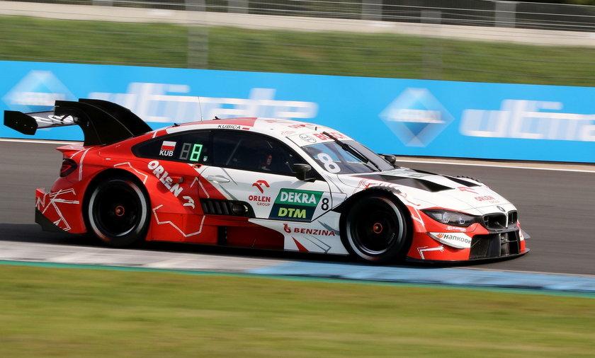 Robert Kubica nie ukończył niedzielnego wyścigu