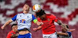 Lech żegna się z Ligą Europy. Benfica zabawiła się z Kolejorzem