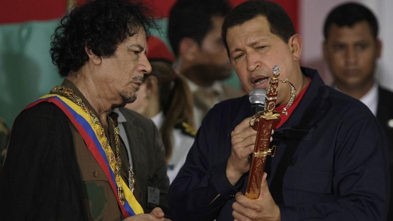 Chavez ma plan dla Libii. Kadafi się zgodził