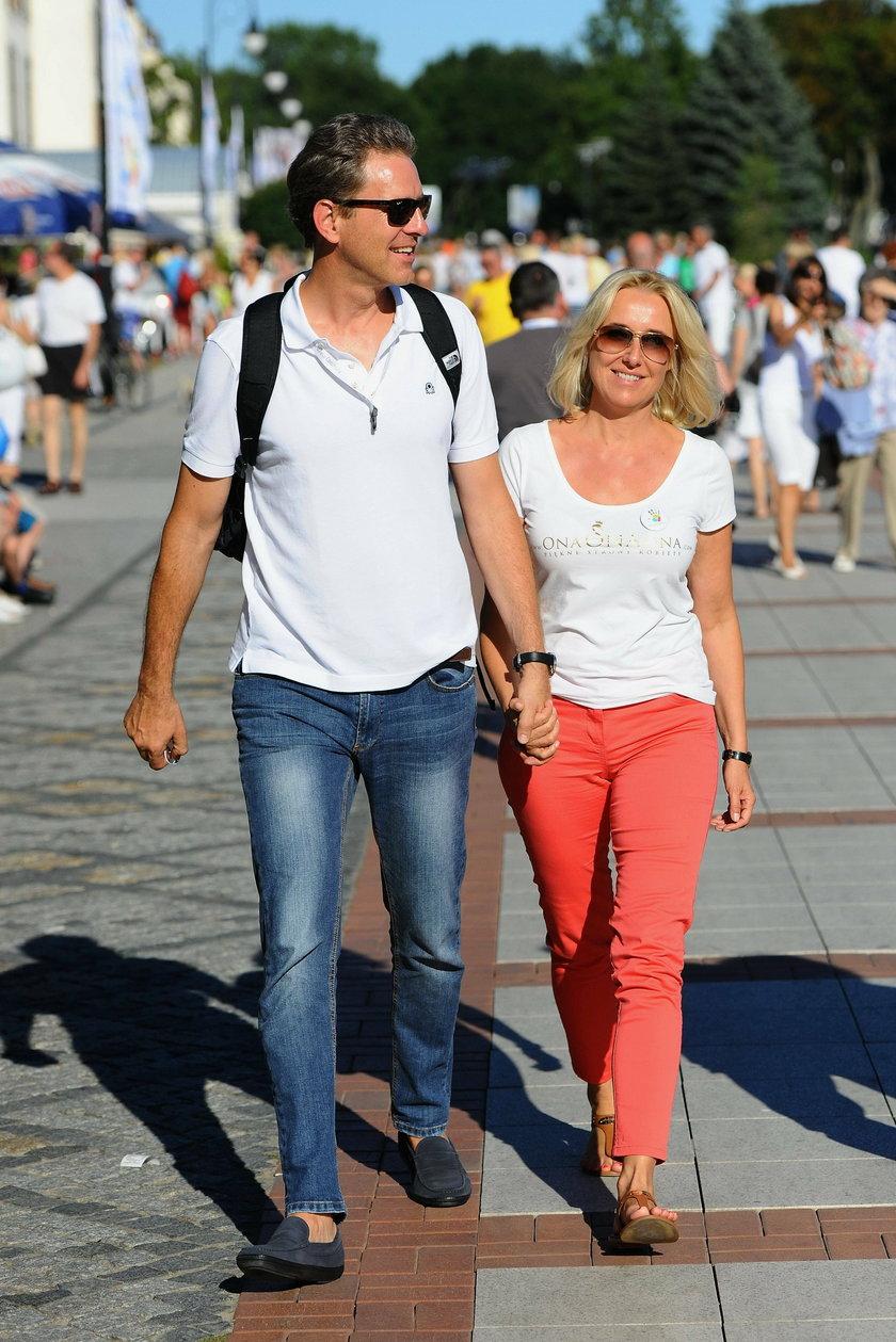 Agata Młynarska z partnerem