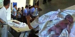 W szpitalu upiekli dziecko w inkubatorze