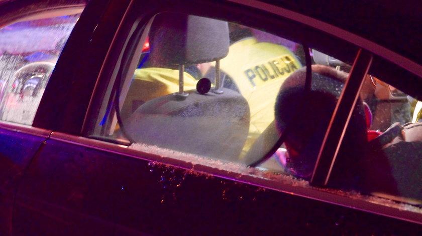 Pijany kierowca za kierownicą tira