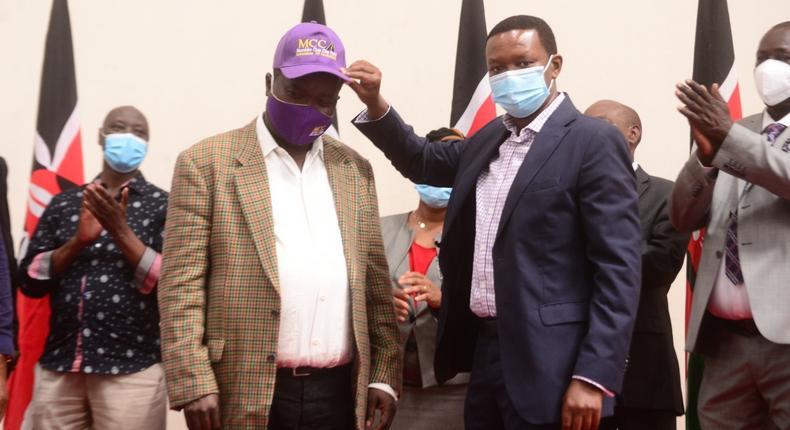Maendeleo Chap Chap picks former Cabinet Minister John Mutua Katuku as candidate for Machakos Senatorial by-election (Photos)