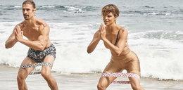 Halle Berry spadły majtki na plaży?!
