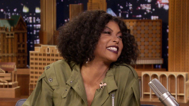 Taraji P Henson knows one or two things about men [Credit: Jimmy Fallon Show]