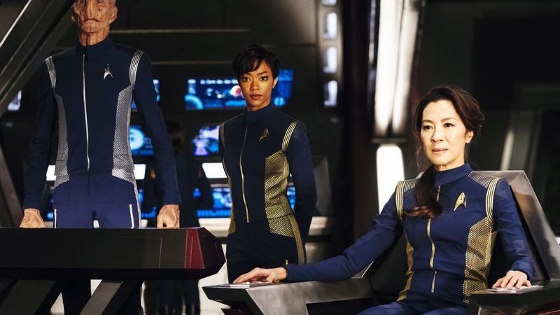 """Star Trek: Discovery"": kadr z serialu"