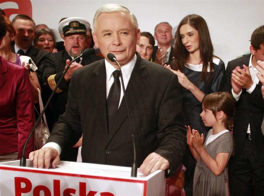 Jarosław Kaczyński: Przegrał z koszmarnym zmęczeniem