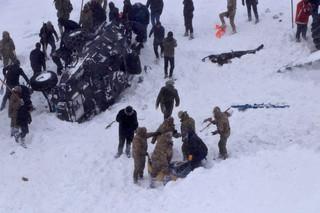 Turcja. Co najmniej 28 osób zginęło w dwóch lawinach na wschodzie kraju