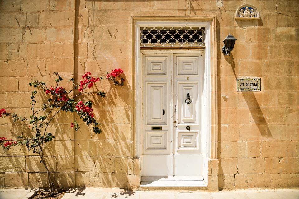 Mdina - dawna stolica Malty, położona w centralnej części wyspy