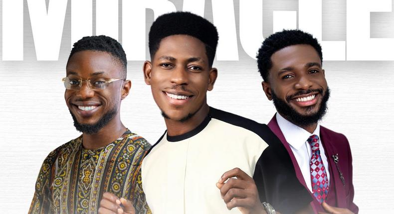 Moses Bliss, Festizie & Chizie drop a new AfroGospel hit titled ''Miracle''