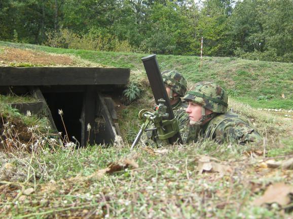 Naši vojnici brinu o 117 kilometara administrativne linije s Kosovom