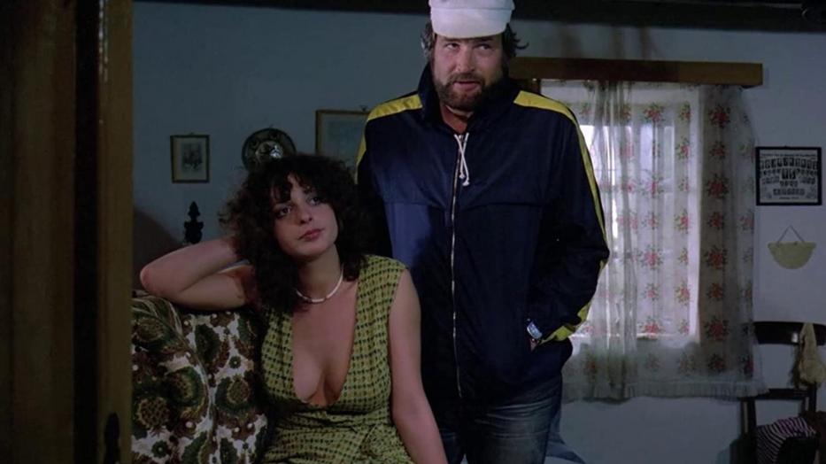 Hernádi Judit és Bujtor István a Pogány Madonna egyik jelenetében - a filmre több mint egymillióan váltottak jegyet a magyar mozikban / Fotó: IMDb.com