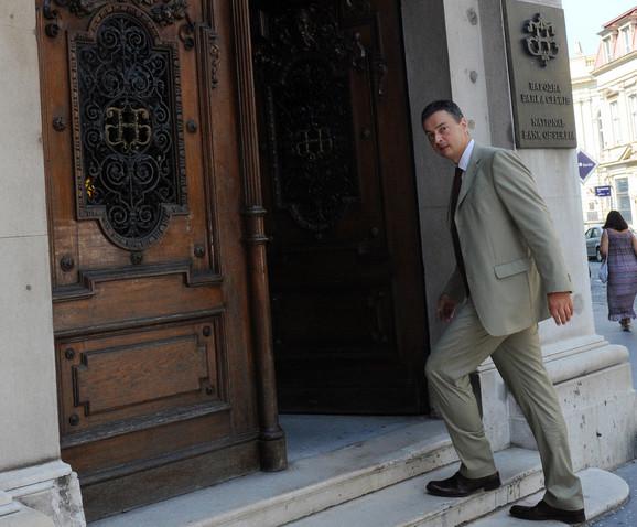 Politički pritisci: Dejan Šoškić, guverner NBS