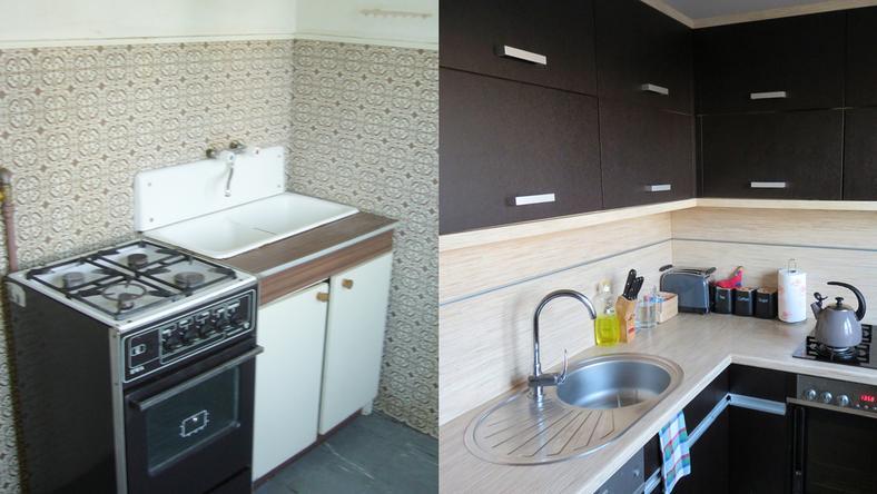 Jak urządzić małą kuchnie w bloku?  Dom -> Mala Kuchnia W Bloku Zdjecia