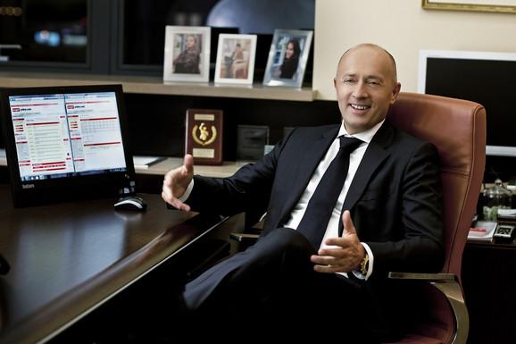 Miodrag Kostić, predsednik MK Group