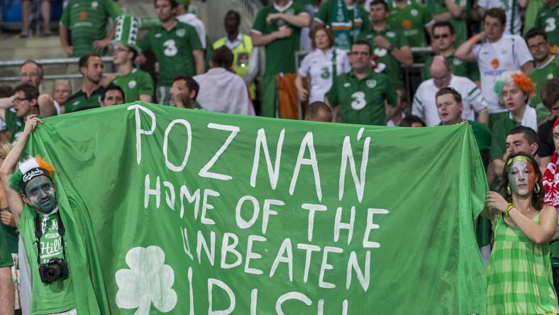 Kibice z Irlandii zostawili w Poznaniu ponad 100 mln złotych