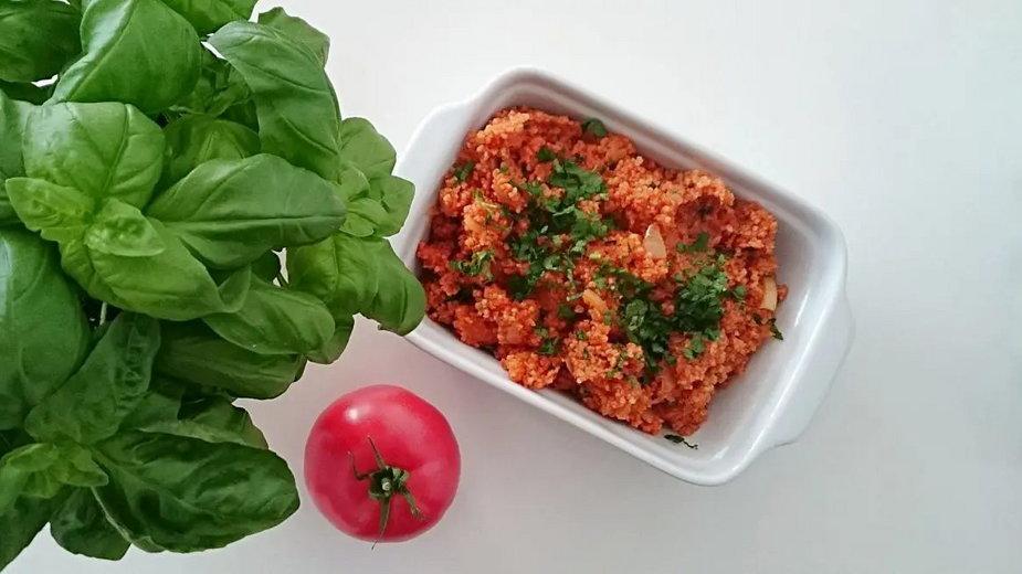 Pomidorowy kuskus