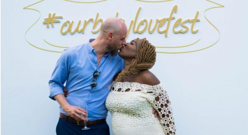 Annabel Onyango and her Husband Marek