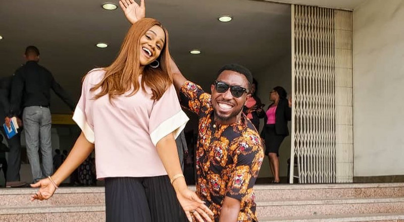 'I will do my best to protect my wife' says Timi Dakolo at press conference