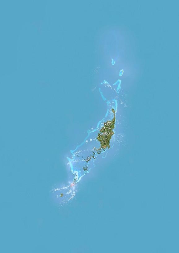 Satelitski pogled na Palau