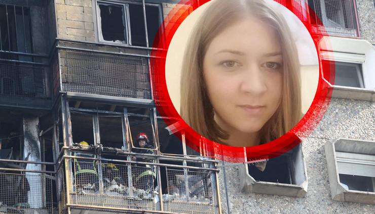 Anja požar Novi Beograd