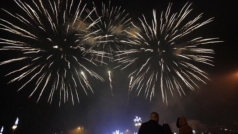 Imprezy, koncerty, fajerwerki... Tak Polacy witali 2013 rok