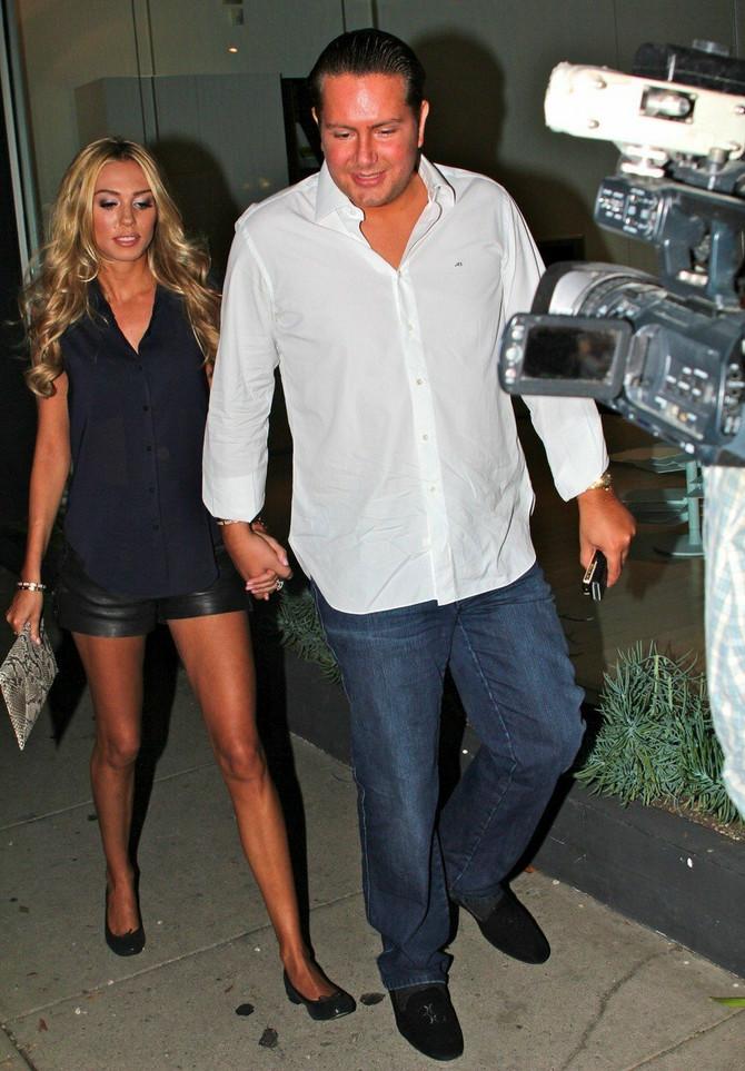 Petra Eklston sa bivšim suprugom
