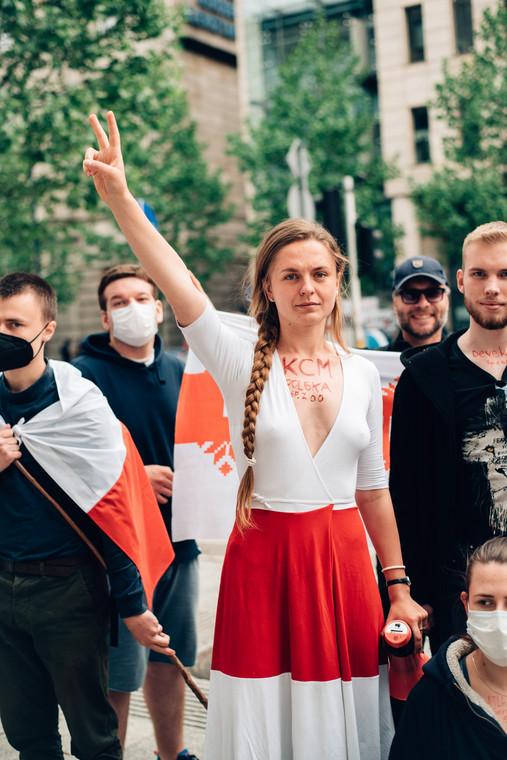 Jana y Varsovia, # Decoldla Bielorrusia, 30 de mayo de 2021