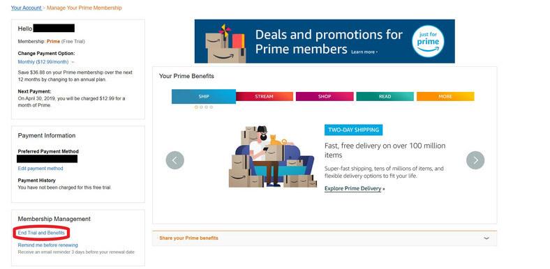 How to cancel your Amazon Prime free trial - Pulse Ghana