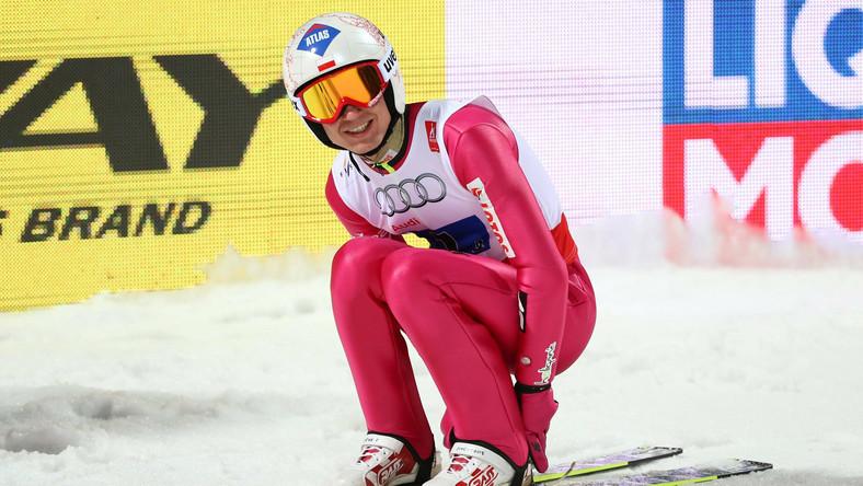 Kamil Stoch najlepszy na obu treningach w Oslo