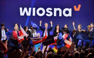'Wiosna' przygotowuje się do eurowyborów. Wiemy, kto znajdzie się na listach