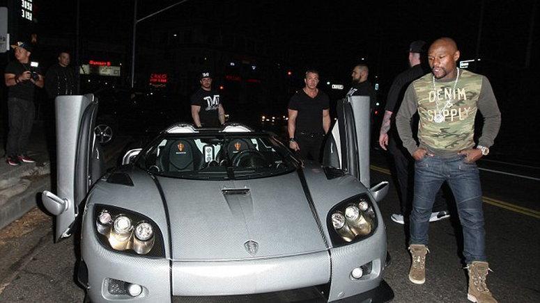 Koenigsegg Ccxr Trevita Check Out Floyd Mayweathers Unique