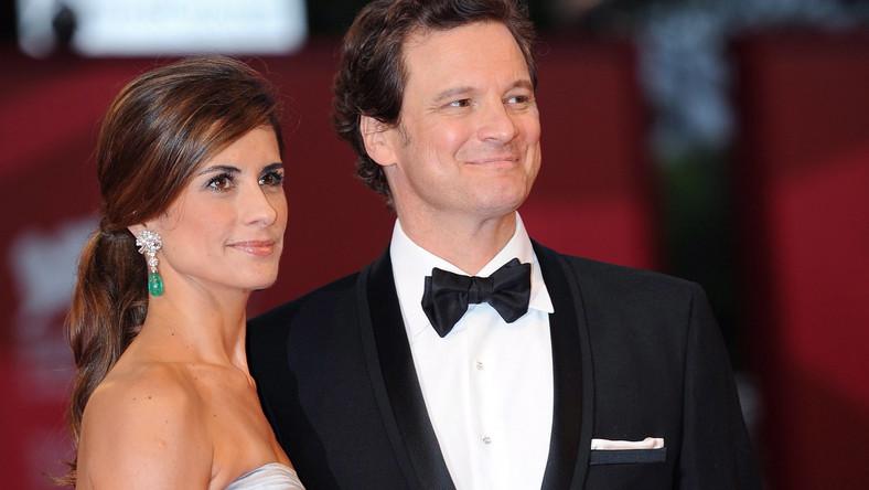 Colin Firth z żoną