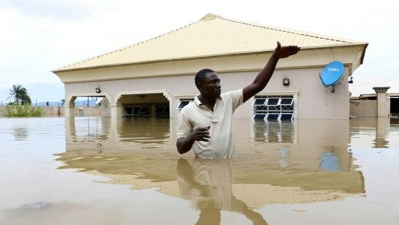 Nigeria has declared a national disaster after severe flooding left about 100 people dead