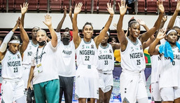 D'Tigress of Nigeria are through to the semifinals of 2021 AfroBasket (Instagram/AfroBasket)