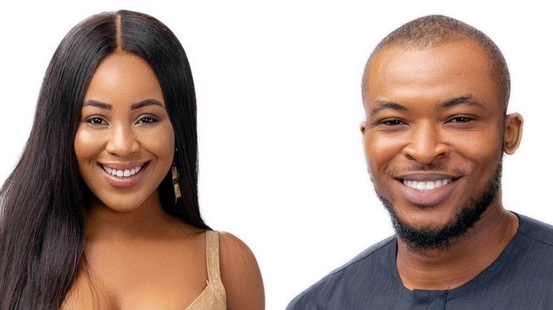 New housemates Eric and Erica [africamagic]
