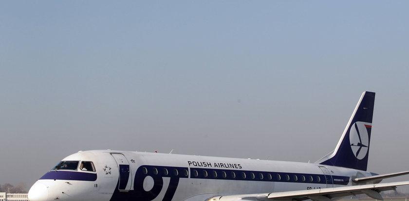 3-latek zmarł w samolocie lecącym do Warszawy