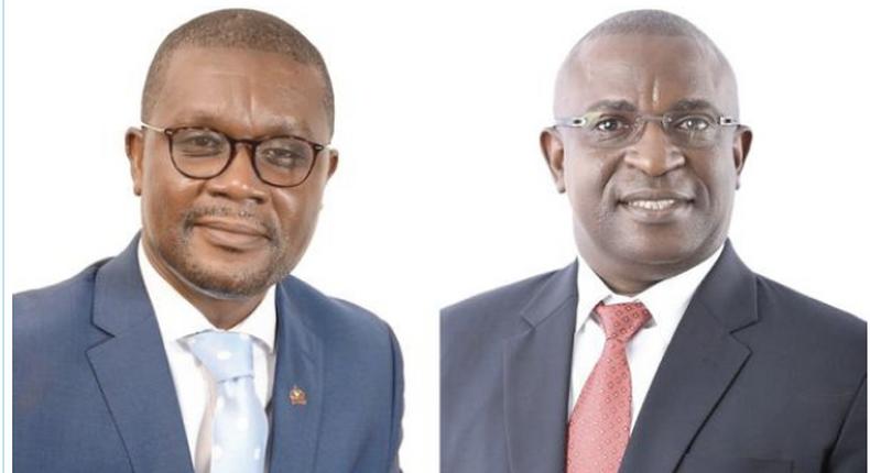 Kwabena Nifa Aning and Sheikh Jobe