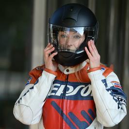 Martyna Wojciechowska na motocyklu. Wygląda jak milion dolarów!