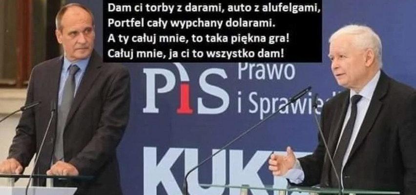 """Po przepchnięciu """"Lex TVN"""" internauci bezlitośni dla Pawła Kukiza. Zobacz najlepsze memy!"""