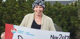 Chora na raka wygrała na loterii. Później usłyszała to